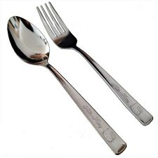 Sanrio Hello Kitty stainless steel large Spoon and Fork 1 Set Made in Japan