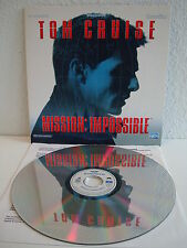 Mission: Impossible   Laserdisc PAL Deutsch CLV   LD: Wie Neu  