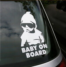 Baby on Board Vinyl Car Toddler Funny Cool Sticker Decal Window Glass Bumper
