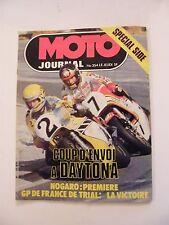 Moto Journal Mars 1978 N°354 Spécial Side