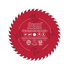 "Freud P410 Premier Fusion 10"" 40T Hi-ATB General Purpose Saw Blade, 5/8"" Arbor"