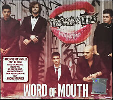 THE WANTED Word of Mouth 2013 MALAYSIA DELUXE DIGIPAK CD + 5 BONUS TRX RARE NEW