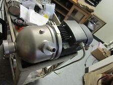 Grundfos Model: CHI8-30A-W-G-BUBE Booster Pump <