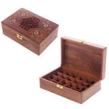 Wooden Decorative Keepsake Boxes with Compartments