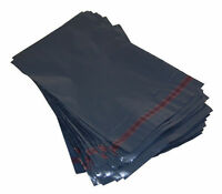 Strong Grey Plastic Mailing Postal Poly Packing Posting Mail Bags - All Sizes