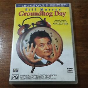 Groundhog Day Collector's Edition DVD R4 Like New! FREE POST