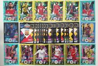 2020/21 Match Attax UEFA - Lot of 100 cards inc 20 shiny (1 Limited & 100 Club)