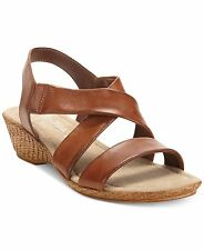 e0e510742 Bella Vita Women s Sandals Italian Ciao Leather Wedge Sandals Shoes 8M