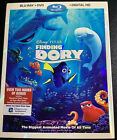 Finding Dory (Blu-ray, DVD, Digital 2016) Disney Pixar