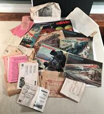 Collection of Older MARKLIN Brochures & Paperwork