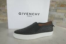 orig GIVENCHY PARIS Gr 35,5 Slipper Mokassins Slip-On Schuhe schwarz NEU UVP550€