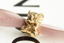 "Original PANDORA  Charm  ""Baby Elefant"" 24K Gold Vergoldet  791902 NEU"