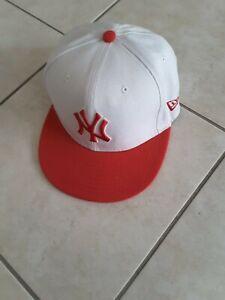 MLB Cap, New York Yankees Cap weiß Neu