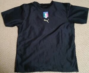 Italy national team vintage training soccer jersey