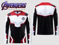 The Avengers 4 Endgame Superhero 3D T-shirt Short Sleeve Shirt Tops Tee Cosplay