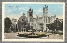 Antique c1915 Postcard: Court House Circle Syracuse New York NY--Near MINT!