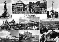 Cartolina - Postcard - Catania - Multivisione - 1960