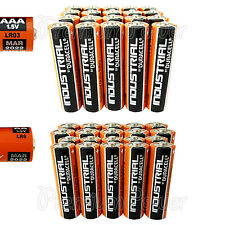 20 AAA + 20 AA Duracell Industrial Procell Alkaline 40 batteries MIX LR03 LR6