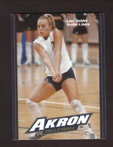 Akron Zips--2004 Volleyball Pocket Schedule