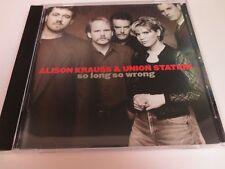 ALISON KRAUSS & UNION STATION ~ SO LONG SO WRONG ~ 1995 LIKE NEW CD