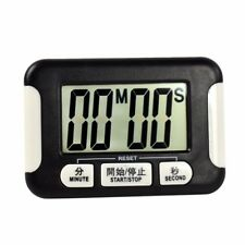 99 Minute Kitchen Timer Digital Cooking Magnetic Clock Alarm Count Down Accessor Black