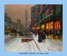 EDOUARD CORTES Parisian painter Ten (10)  copies of his masterpieces