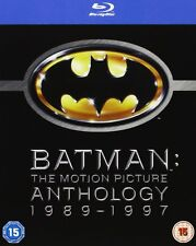 Batman: The Motion Picture Anthology 1989 - 1997 4er [Blu-ray] NEU DEUTSCH