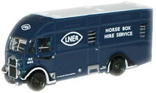 Oxford NAH002 Albion Horse Box LNER 1/148 New in Case -T48 Post