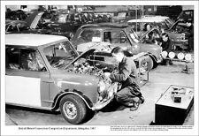 Mini Cooper Garage/British Motor Corporation Department Abingdon 1967 Car Poster