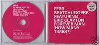 BEATCHUGGERS/ERIC CLAPTON Forever Man UK promo CD