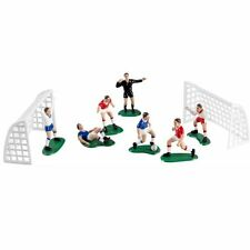 Wilton Soccer Team Set of 7 Players and 2 Soccer Nets Cake Toppers 9 Items Total