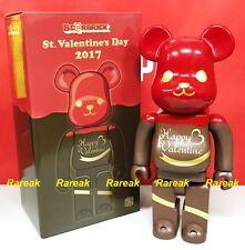 Medicom Be@rbrick 2017 Love & Happy Valentine 400% Chocolate Framboise Bearbrick