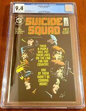 Suicide Squad #1 Cgc 9.4