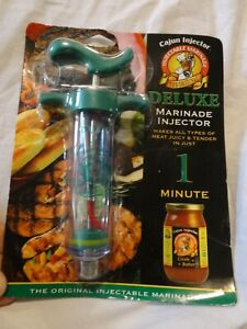 New - sealed package CAJUN INJECTOR deluxe marinade injector Meat Tenderizer