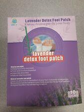Lavender Detox Foot Patch 10PCS/ Box