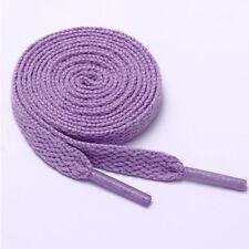1Pair Flat Athletic Sneaker Shoe Laces strings Shoelaces Bootlaces 80/100/120cm