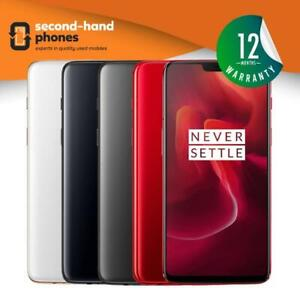 OnePlus 6 Six 128/256GB Dual Sim Unlocked Android Smartphone 12 Month Warranty