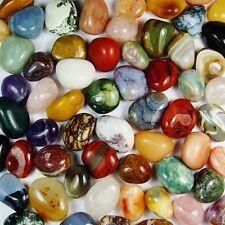 500 g XL Trommelsteine große Edelsteine Heilsteine Massagesteine Top Qualität