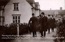 Hampstead Garden Suburb. George V & Queen Mary at Haven of Rest.