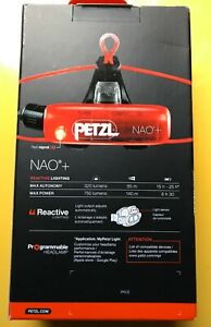 Petzl - Lampe frontale PETZL NAO + 750 lumens rechargeable