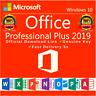 MICORSOFT OFFICE 2019 Professional/Pro Plus 32/64-bit🔥100% Genuine 1PC Key
