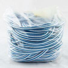 "Climbing Line Samson Blue Streak, 6500 Lb, 16 Strand Rope, 1/2"" x 120"" W/Bag"