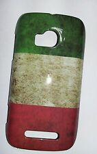 NOKIA LUMIA 710 N710 COVER case FLAG BANDIERA FLAG ITALIA VINTAGE Italy CASE