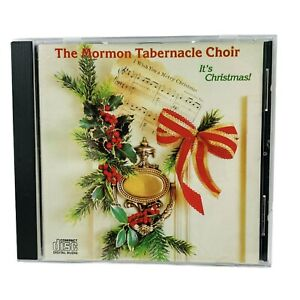 The Mormon Tabernacle Choir It's Christmas Audio Music CD 1989