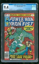 CGC 9.4 POWER MAN AND IRON FIST #66 MARVEL COMICS 1980 2ND APPEARANCE SABRETOOTH