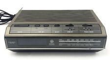 Vintage 1960s GE DIGITAL ALARM CLOCK RADIO Mod 7-4642B Blue DISPLAY