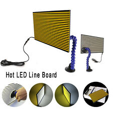 HOT LED DENT test Riflettente Bordo Doppio Pannello USB PDR STRISCIA LINEA Board