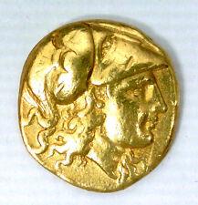 MACEDOINE - STATERE D'OR D'ALEXANDRE III (336-323 AV JC) LAMPSAKOS