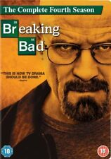 Breaking Bad - Season 4 [DVD] 4 Disc Box Set New Sealed UK Region 2 Aaron Paul