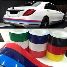 M For BMW Germany Italy French Flag Striped Car Hood Vinyl Sticker Body Decal